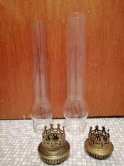 Teile antike Petroleum Lampen