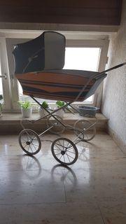 Puppen Kinderwagen Retro Vintige