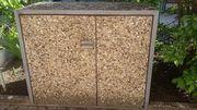 Waschbeton-Müllbox