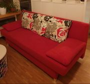 Schlafcouch Rot
