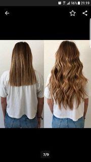 profesionelle Haarverlängerung