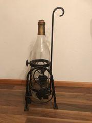 Weinflasche 3 l Gestell Einschankhilfe