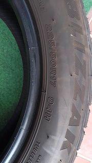 4 gebrauchte Bridgestone Winterreifen