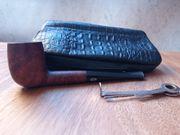 Reise-Rauchersortiment mit Pfeife Tasche und
