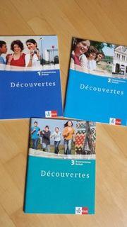 Klett Grammatisches Beiheft Französisch Decouvertes