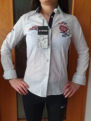 Camp David Damen Bluse Hemd