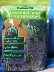 Lavendel und Mediterran Dünger