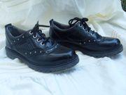 Schuhe Gr 36 Leder Schwarz