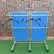 Mittelraumgondel blau - Verkaufsgondel - Verkaufsständer - Kleiderständer