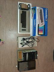 Commodore 64 mit vielen Spielen