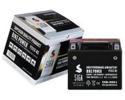 SIGA Motorrad Batterie AGM 12Ah