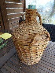 Korbflasche Inhalt ca 12 Liter