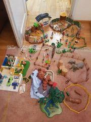 Playmobil Zoo Tierpark mit Klinik