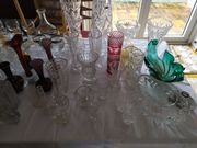 Haushaltsauflösung Hausflohmarkt Glas Zinn Emaille