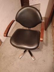 Leder Stühle 3 Stück ein