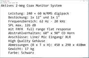 3 Aktiv-Monitorboxen - dB Technologies Flexsys