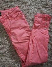 Jeans in Pink Größe 34