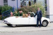 Citroen DS Oldtimer - Hochzeitsauto - französisches