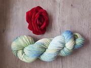 Schöne handgefärbte Wolle Sockenwolle 100gr