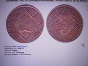 Münze Kaiser Franz Josef