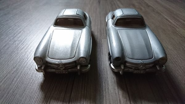 2x Mercedes Benz 300SL 1954