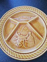 Fondue Teller 6 Stück