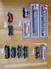 züge wagons modellbau