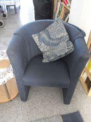 Zwei schöne blaue Sessel