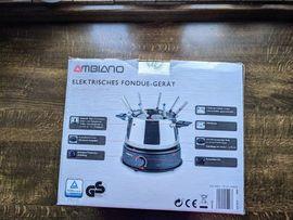 Fonduegerät, elektrisch, original verpackt, ungebraucht für 20,-- Euro zu verkaufen.