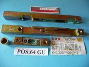 GU-Türkantriegel Paar Secury 20 K-13387