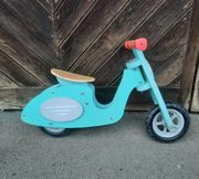 wespa Roller Holzspielzeug Laufrad Holzlaufrad