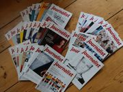 44x JOURNALIST MEDIEN MAGAZIN ZEITSCHRIFT