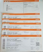 5 Tickets für Jürgen von
