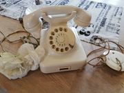 shabby chic altes Telefon Post
