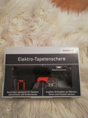 Elektro Tapetenschere