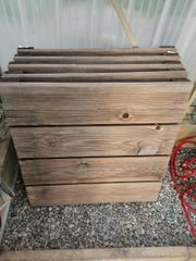 Kiefer Holzboden Elemente 5 Stück