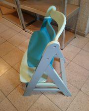 Tripp Trapp Kinderstuhl blautöne Hochstuhl
