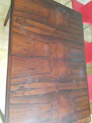 Alter Mahagoni Holz Tisch Esstisch
