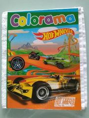 Malbuch Colorama von Hot Wheels