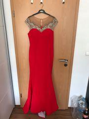 Abendkleid rot Größe 40