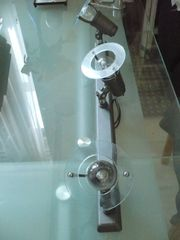 Strahler Lampen 2 Stck grau-braun