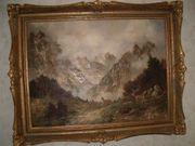 Ölgemälde Gemälderahmen 80 x 60