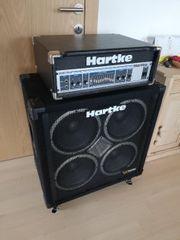 Hartke Bass Verstärker Amp Topteil