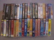 VHS-Videokassetten