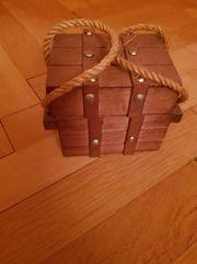 Untersetzer aus Holz Kork