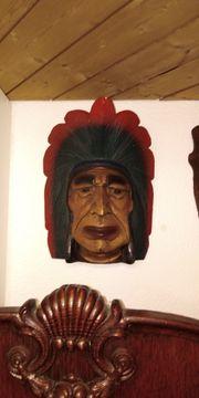 Indianer aus echt Holz