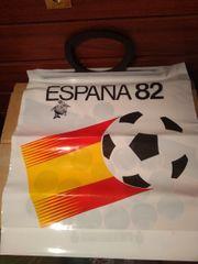 Neue Plastiktüten Fussball-Weltmeisterschaft Spanien 1982