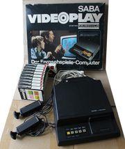 SABA VIDEOPLAY Spielekonsole mit 10