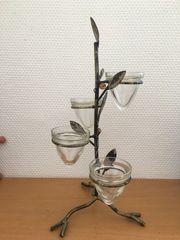 Teelichtständer Teelicht Ständer Vier Aufsätze