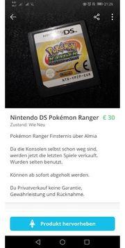 Nintendo DS Pokemon Ranger